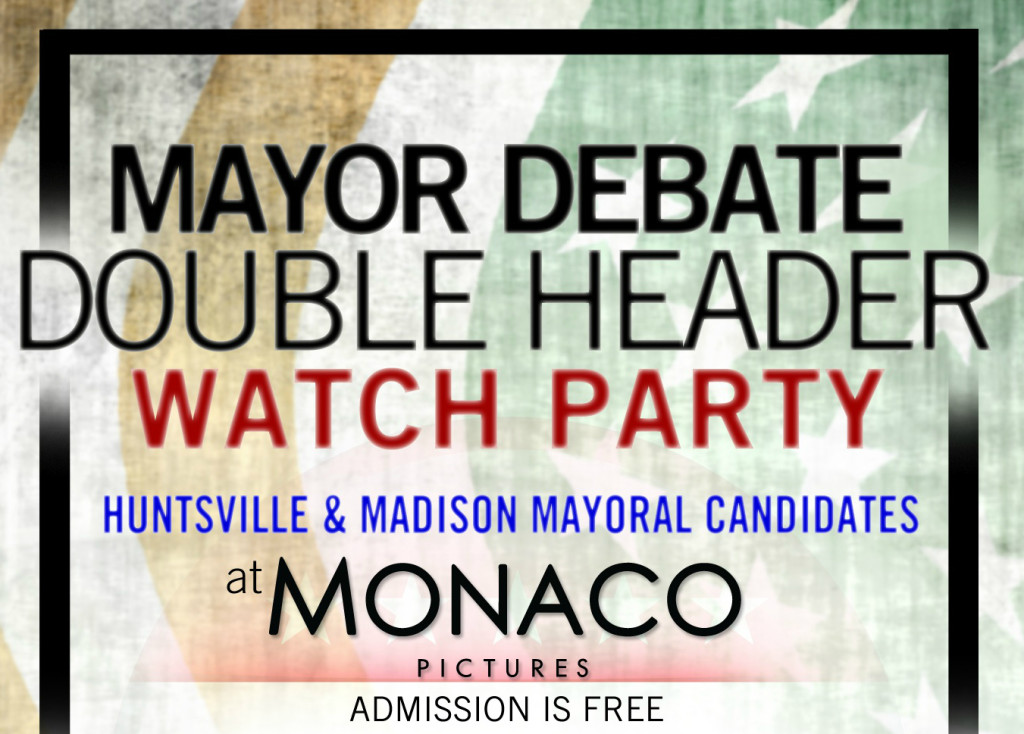 Mayoral Debate flyer photo